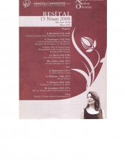 15 April 2008 - Eskisehir - Harp Recital